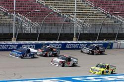 Austin Cindric, Brad Keselowski Racing Ford Ryan Truex, Hattori Racing Enterprises Toyota Matt Craft
