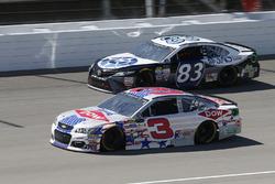 Austin Dillon, Richard Childress Racing Chevrolet Corey LaJoie, BK Racing Toyota