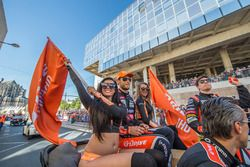 Roman Rusinov, Pierre Thiriet, Alex Lynn, G-Drive Racing