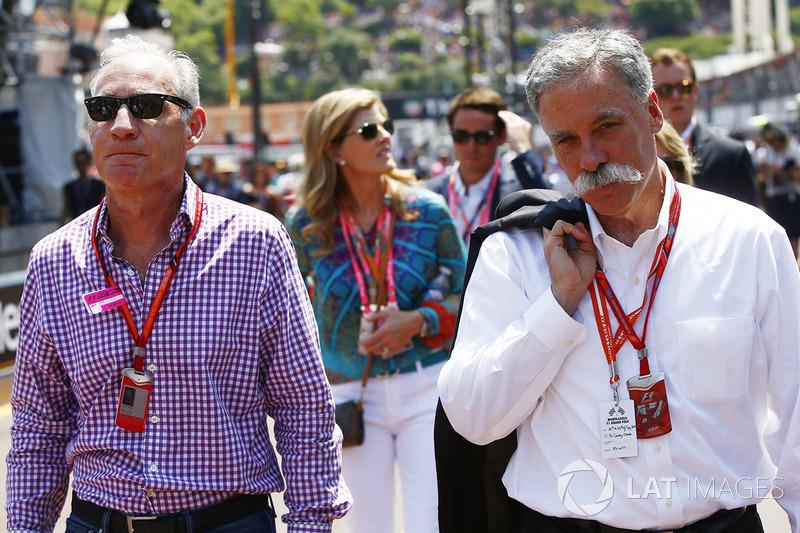Greg Maffei, Liberty Media, Chase Carey, Chairman, Formula One