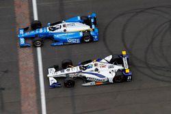 Scott Dixon, Chip Ganassi Racing Honda J.R. Hildebrand, Ed Carpenter Racing Chevrolet