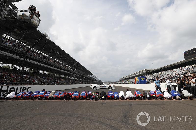Takuma Sato, Andretti Autosport Honda en team kussen de stennen