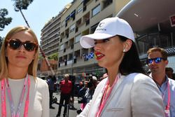 Carmen Jorda, Renault Sport F1 Team Development Driver and Adriana Lima, Model