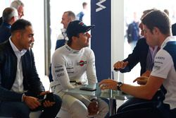 Pastor Maldonado, Felipe Massa, David Coulthard y Paul di Resta