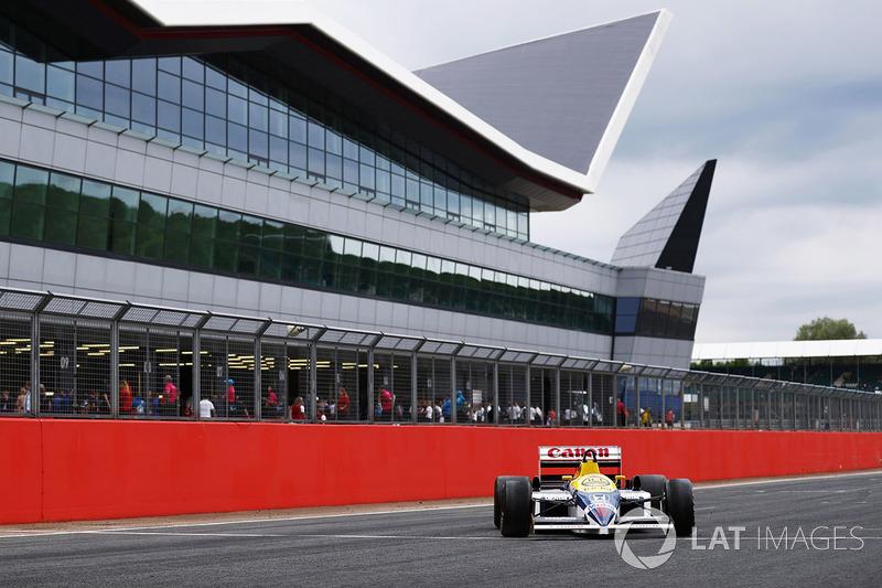 A Williams FW11 Honda
