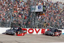 Ben Rhodes, ThorSport Racing, Toyota; Noah Gragson, Kyle Busch Motorsports, Toyota