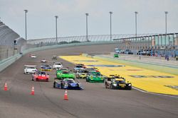 #777 MP1B Porsche GT3 Cup, Guillermo Fernandez, Frank Silah, MGM Motorsports, #4 FP1 Ligier LMP3, Da