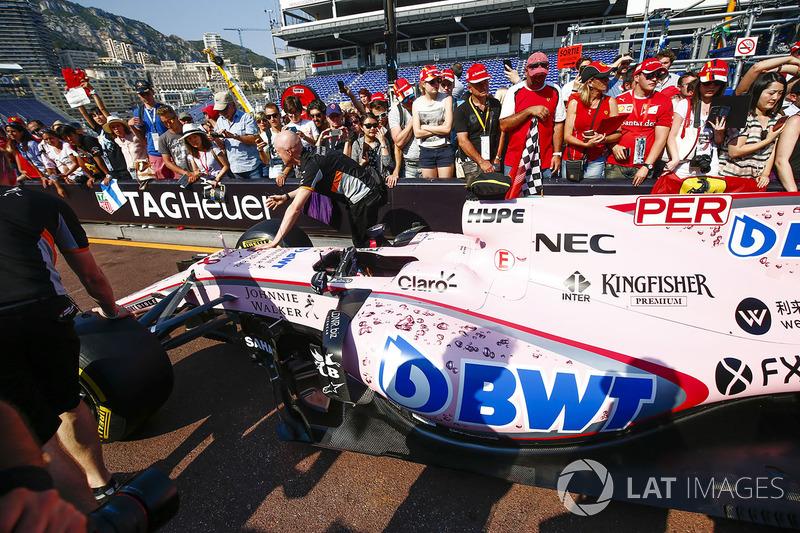 Sergio Perez Sahara Force India F1, VJM10