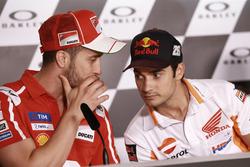 Andrea Dovizioso, Ducati Team, Dani Pedrosa, Repsol Honda Team