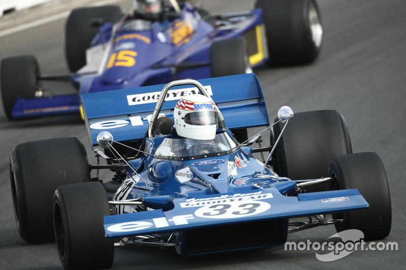 John Delane scheurt met de Tyrrell 001