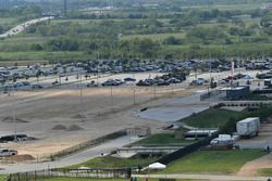 COTA GoKart track under construction in Lot A