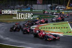 La chronique de Charles Leclerc, Italie