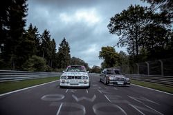 Johnny Cecotto, BMW M3 DTM and Klaus Ludwig, Mercedes 190 E DTM