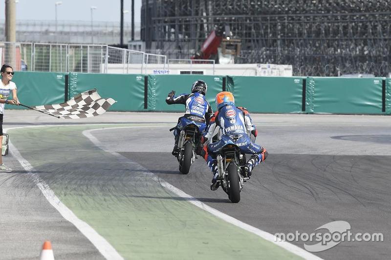 Гонка на мотоциклах MiniGP на картодромі Мізано, Микита Калінін