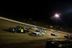 Norm Benning, Norm Benning Racing Chevrolet and Harrison Burton, Kyle Busch Motorsports Toyota