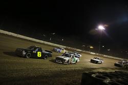Norm Benning, Norm Benning Racing Chevrolet y Harrison Burton, Kyle Busch Motorsports Toyota