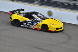 #02 TA3 Chevrolet Corvette, Larry Bailey, LSI Racing