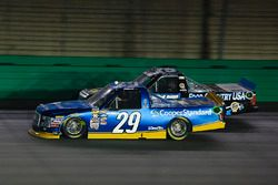 Chase Briscoe, Brad Keselowski Racing Ford and Parker Kligerman, Henderson Motorsports Toyota