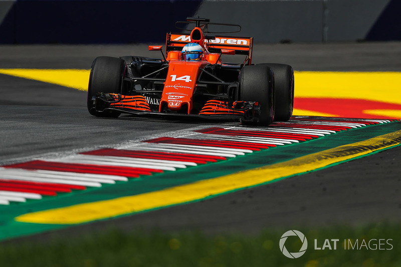 12. Fernando Alonso, McLaren MCL32