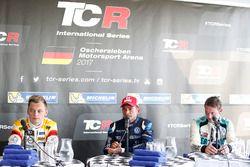Пресс-конференция: Джанни Морбиделли, West Coast Racing, Мато Хомола, DG Sport Competition, Жан-Карл