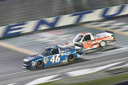 Kyle Busch, Kyle Busch Motorsports Toyota, Austin Hill, Whitetail Heaven Outfitters Ford F150