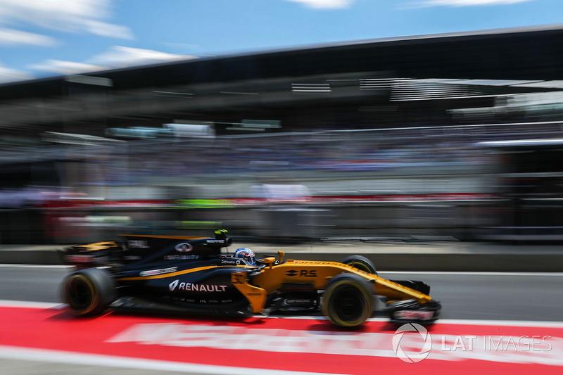 11. Джолион Палмер, Renault Sport F1 RS17