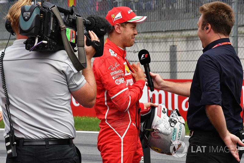Давіде Вальеккі, Sky Italia, Себастьян Феттель, Ferrari
