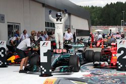 Racewinnaar Valtteri Bottas, Mercedes AMG F1