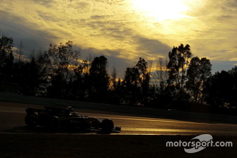 Mardi : Jolyon Palmer, Renault