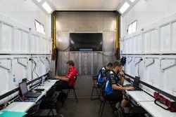 Nissan Motorsports team members at work