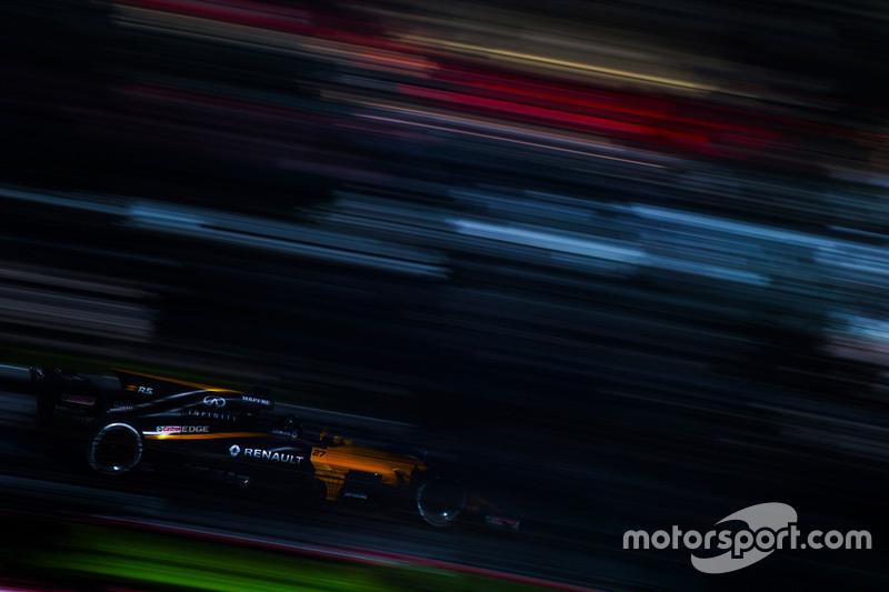 Mardi : Nico Hulkenberg, Renault Sport F1 Team RS17