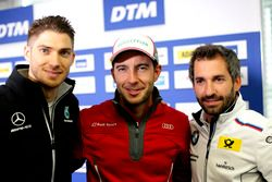 Press Conference, Edoardo Mortara, Mercedes-AMG Team HWA, Mercedes-AMG C63 DTM, Mike Rockenfeller, A