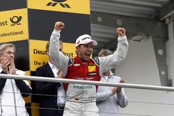 Podium: 3. Mike Rockenfeller, Audi Sport Team Phoenix, Audi RS 5 DTM