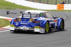 #19 Team WedsSport Bandoh Lexus LC500: Yuhi Sekiguchi, Yuji Kunimoto