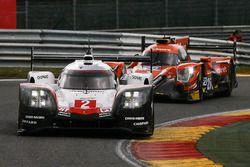 #2 Porsche Team, Porsche 919 Hybrid: Timo Bernhard, Earl Bamber, Brendon Hartley; #26 G-Drive Racing
