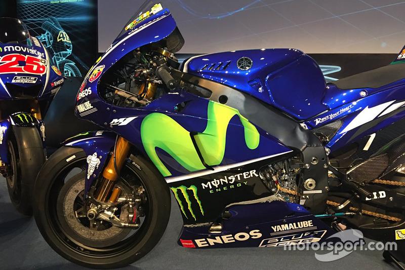 La moto de Valentino Rossi, Yamaha Factory Racing