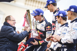 Les vainqueurs Sébastien Ogier, Julien Ingrassia, M-Sport