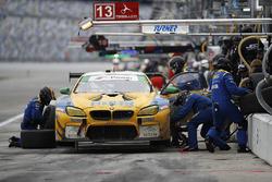 #96 Turner Motorsport BMW M6 GT3: Jens Klingmann, Justin Marks, Maxime Martin, Jesse Krohn, pit acti