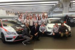Il team Seat Motorsport Italia