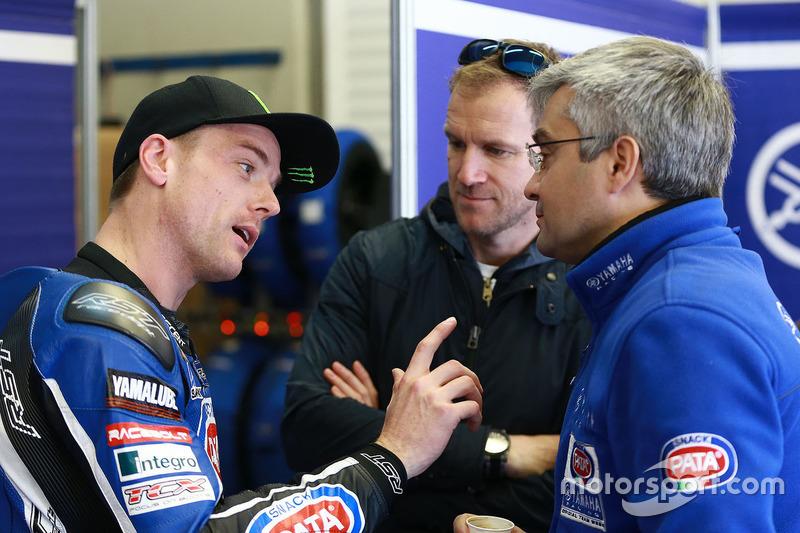 Alex Lowes, Pata Yamaha; Neil Hodgson, Andrea Dosoli