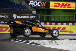 Tony Kanaan driving the ROC Car