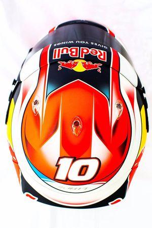 Casco de Pierre Gasly, Scuderia Toro Rosso