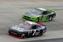 Justin Allgaier, JR Motorsports Chevrolet Ryan Blaney, Team Penske Ford
