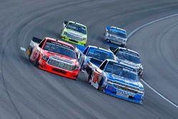 Stewart Friesen, Elaine Larsen Motorsports Chevrolet and Cody Coughlin, ThorSport Racing Toyota