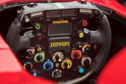 Steering wheel of the Ferrari F2001