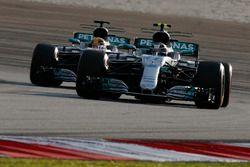 Валттери Боттас и Льюис Хэмилтон, Mercedes AMG F1 W08