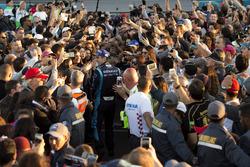 Race winner Sebastien Buemi, Renault e.Dams