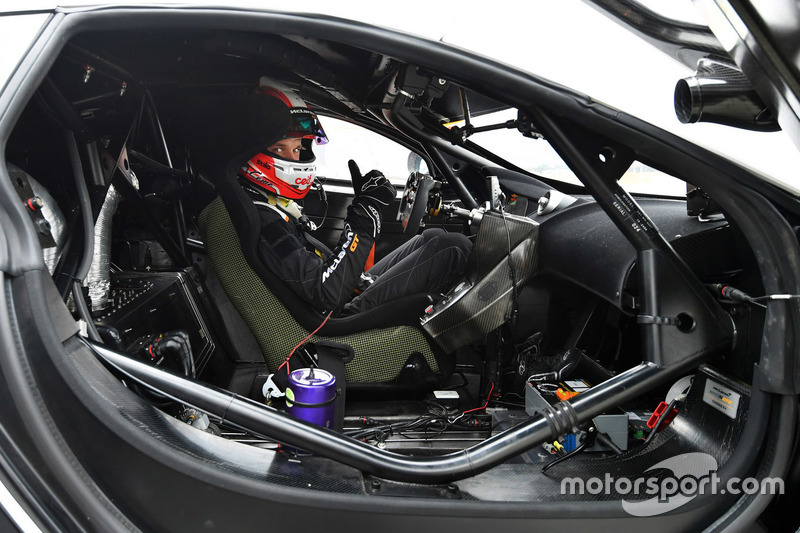 #88 Garage 59, McLaren 650S GT3: Côme Ledogar