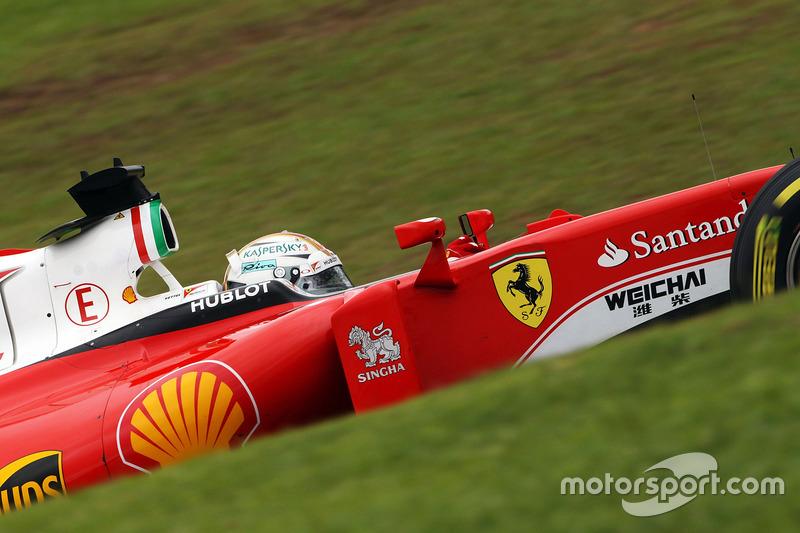 La première ligne échappe encore à Ferrari