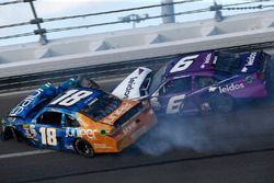 Daniel Suarez, Joe Gibbs Racing Toyota Darrell Wallace Jr., Roush Fenway Racing Ford